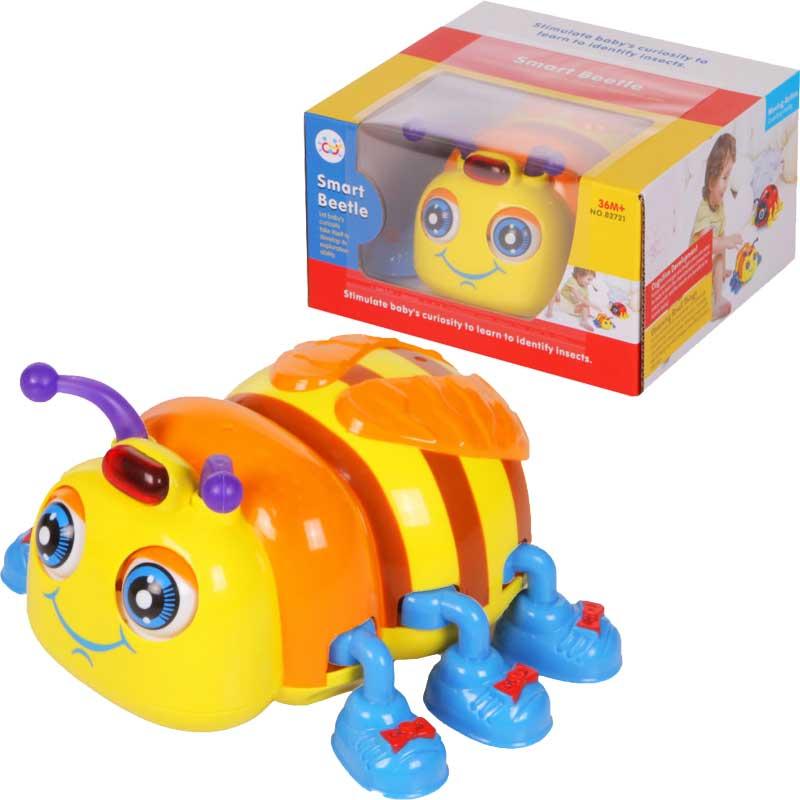 Игрушка детская  Жучок со звуковыми и световыми эффектами - Интерактив для малышей, артикул: 166455