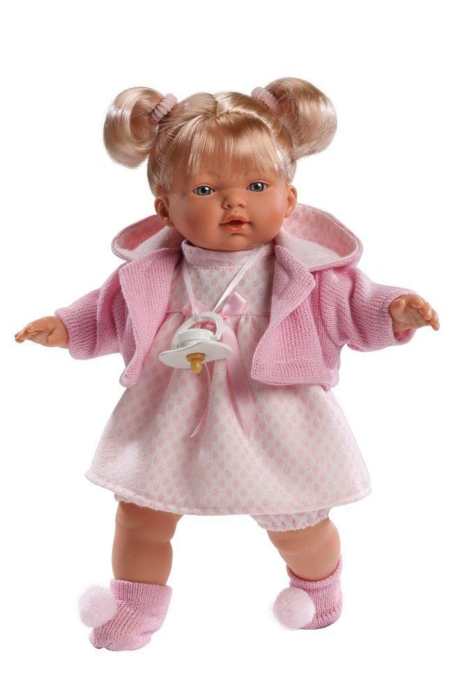 Кукла Мария 33 смИспанские куклы Llorens Juan, S.L.<br>Кукла Мария 33 см<br>