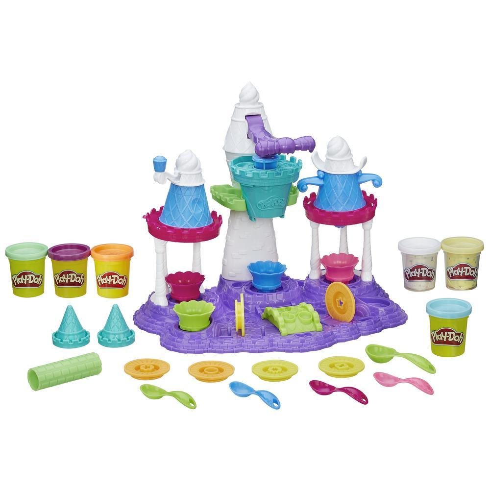 Игровой набор Play-Doh Замок мороженого - Пластилин Play-Doh, артикул: 144063