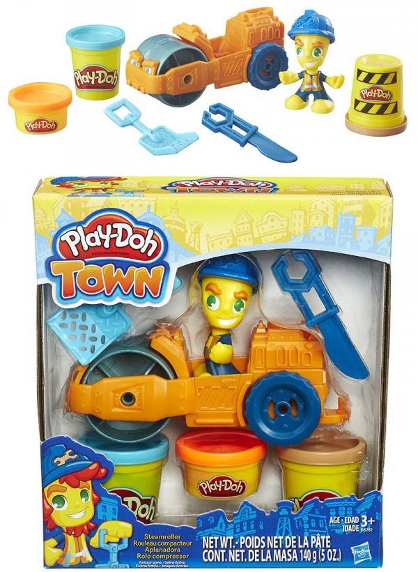 Hasbro Рlay-Doh Town. Пластилин Паровой катокПластилин Play-Doh<br>Hasbro Рlay-Doh Town. Пластилин Паровой каток<br>