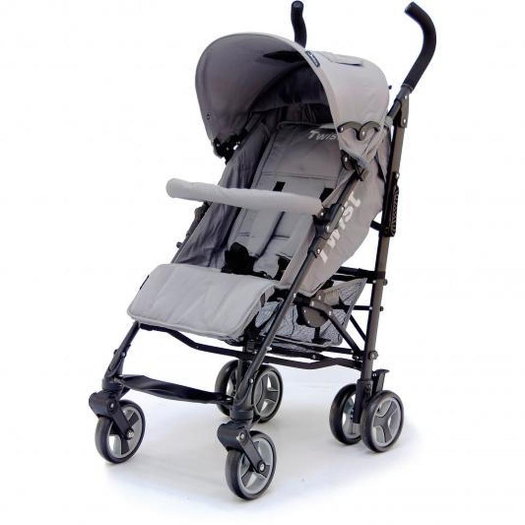 Коляска трость Twist, GreyДетские коляски Capella Jetem, Baby Care<br>Коляска трость Twist, Grey<br>