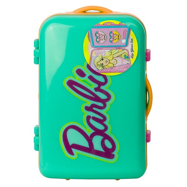 Набор детской декоративной косметики из серии Barbie, в бирюзовом чемоданчикеЮная модница, салон красоты<br>Набор детской декоративной косметики из серии Barbie, в бирюзовом чемоданчике<br>