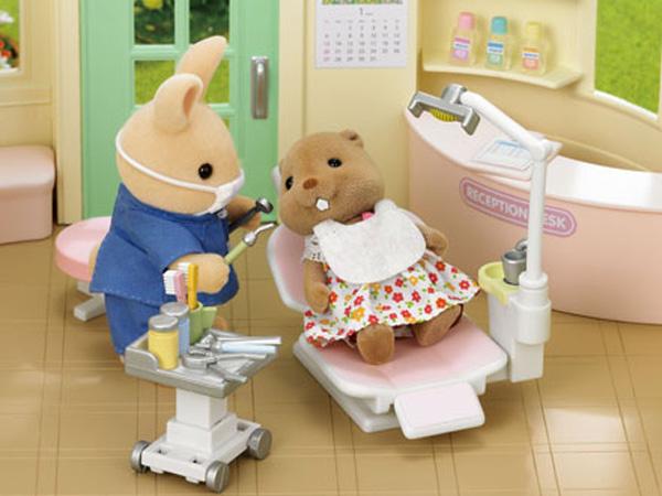 Sylvanian Families - Кролик-стоматологСемьи и малыши<br>Sylvanian Families - Кролик-стоматолог<br>