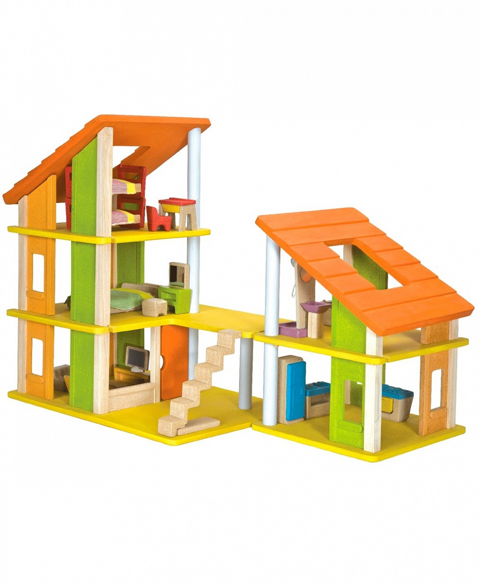 Кукольный домик - Шале с мебельюКукольные домики<br>Кукольный домик - Шале с мебелью<br>