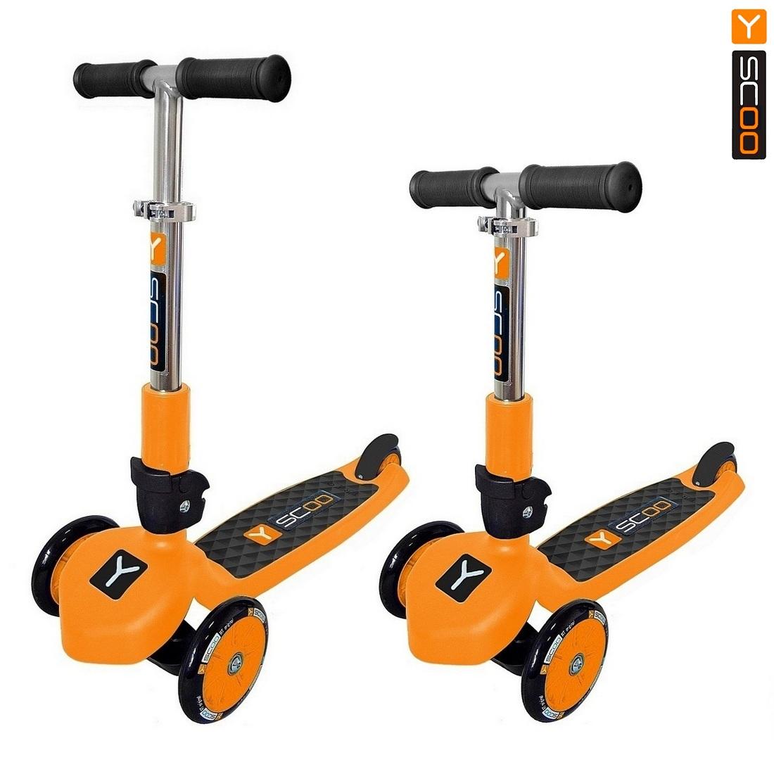 Самокат RT Trio 120 Neon orange