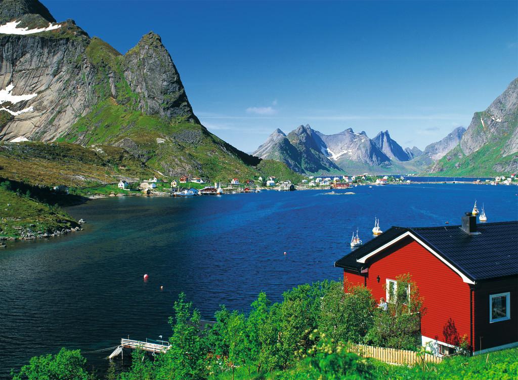 Паззл «Норвежский фьорд» 500 штПазлы Ravensburger<br>Паззл «Норвежский фьорд» 500 шт<br>