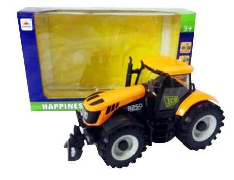Купить Инерционный металлический трактор, 1:32, свет и звук, JUNFA TOYS