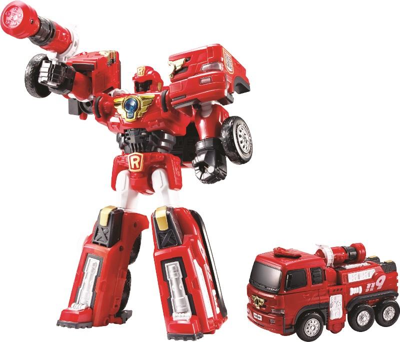 Трансформер Тобот R- ПожарныйТрансформеры Tobot<br>Трансформер Тобот R- Пожарный<br>