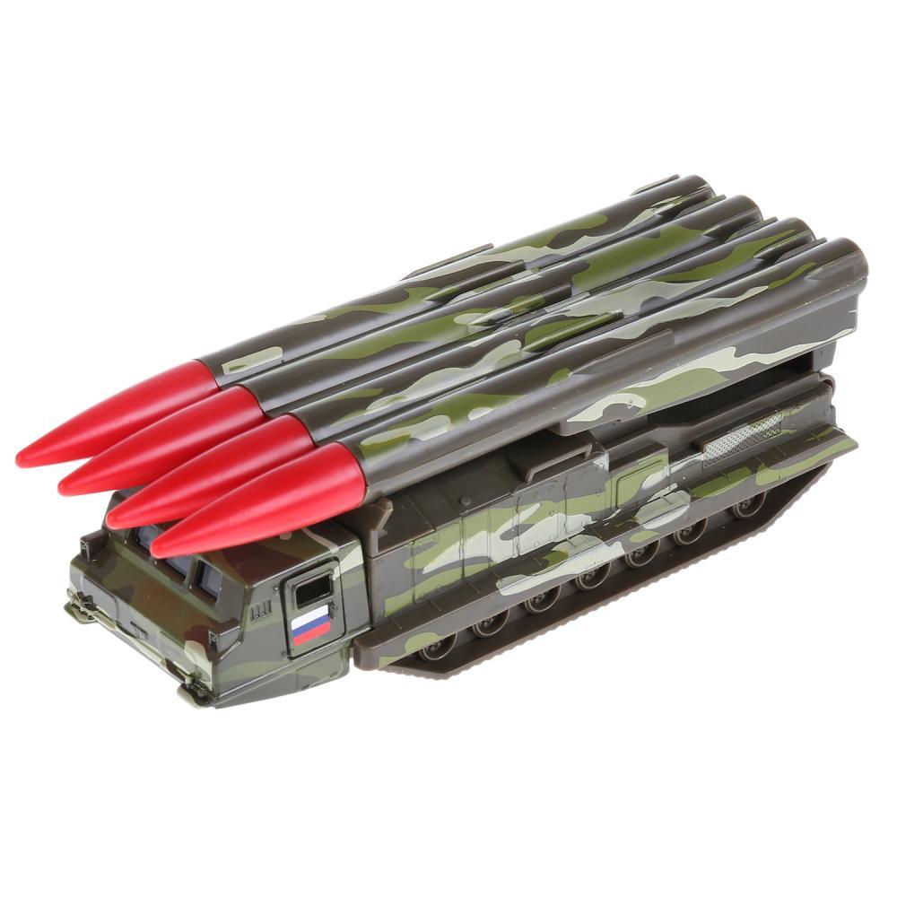 Купить Металлическая инерционная модель Технопарк – ЗРК Антей-2500, 15 см.