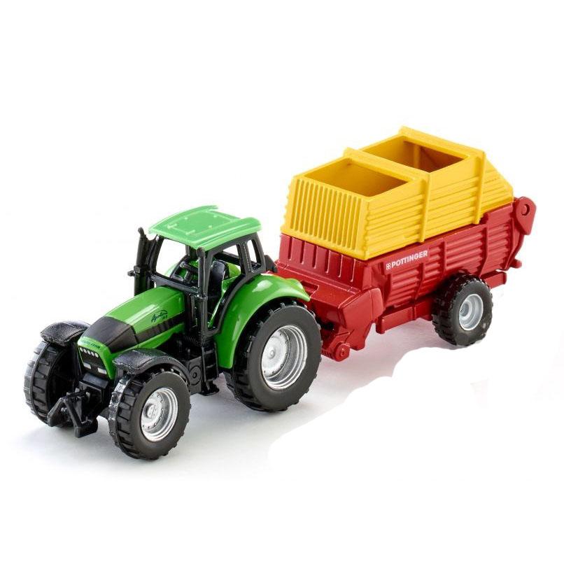 Купить Трактор с прицепом Poettinger, Siku