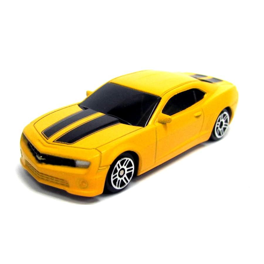 Машина металлическая RMZ City - Chevrolet Camaro, 1:64, желтый матовый цветChevrolet<br>Машина металлическая RMZ City - Chevrolet Camaro, 1:64, желтый матовый цвет<br>