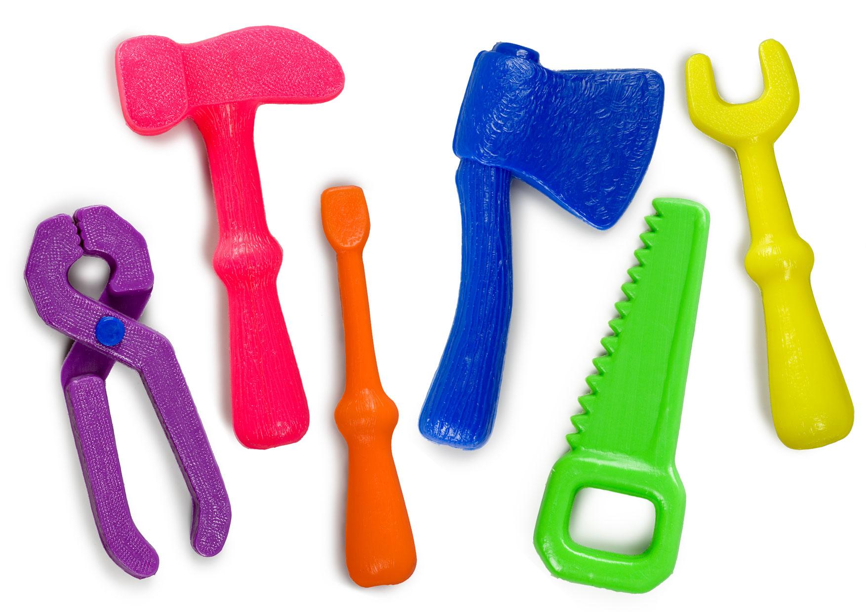 Игровой набор - Маленький мастер, 6 предметовДетские мастерские, инструменты<br>Игровой набор - Маленький мастер, 6 предметов<br>
