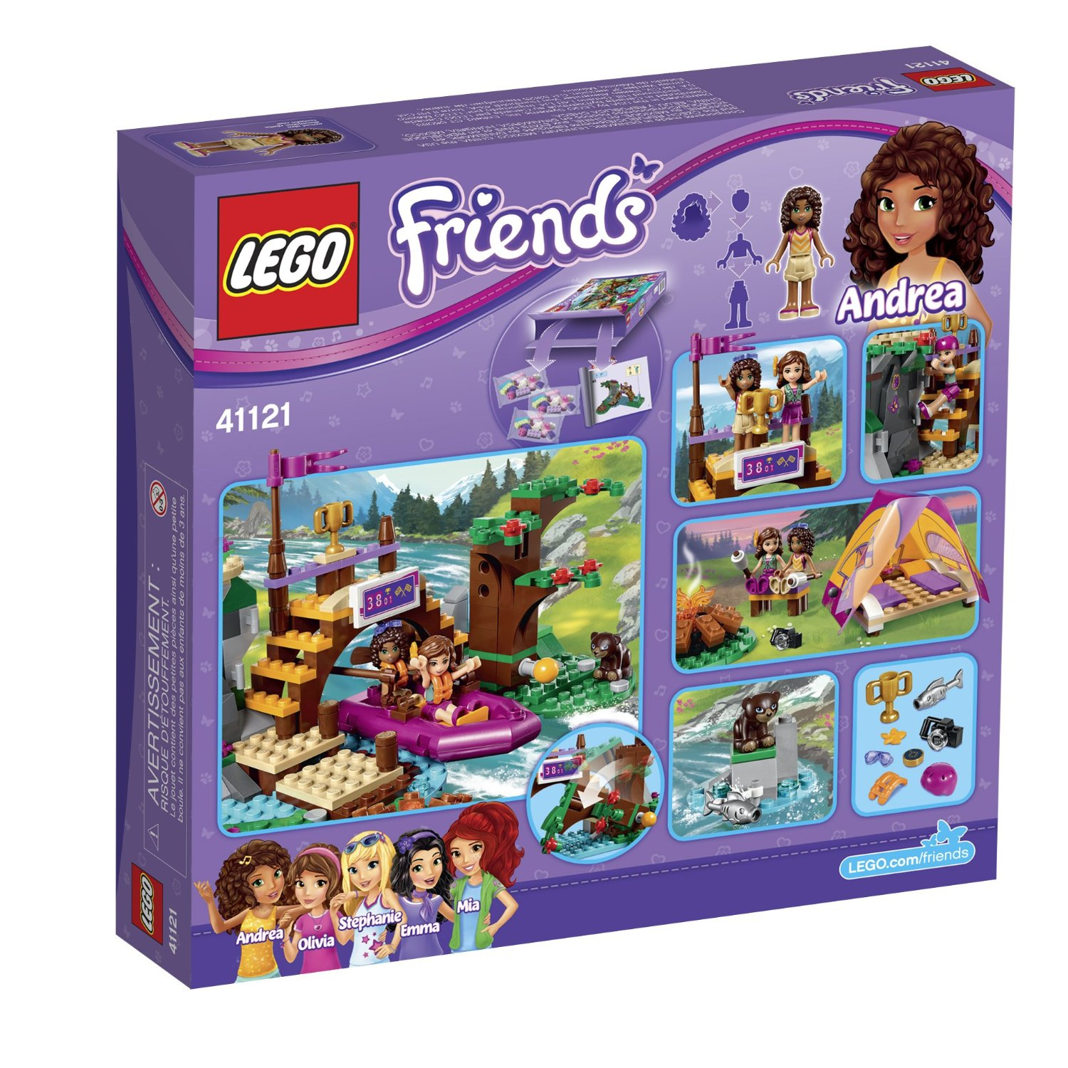 Lego Friends. Спортивный лагерь: сплав по реке