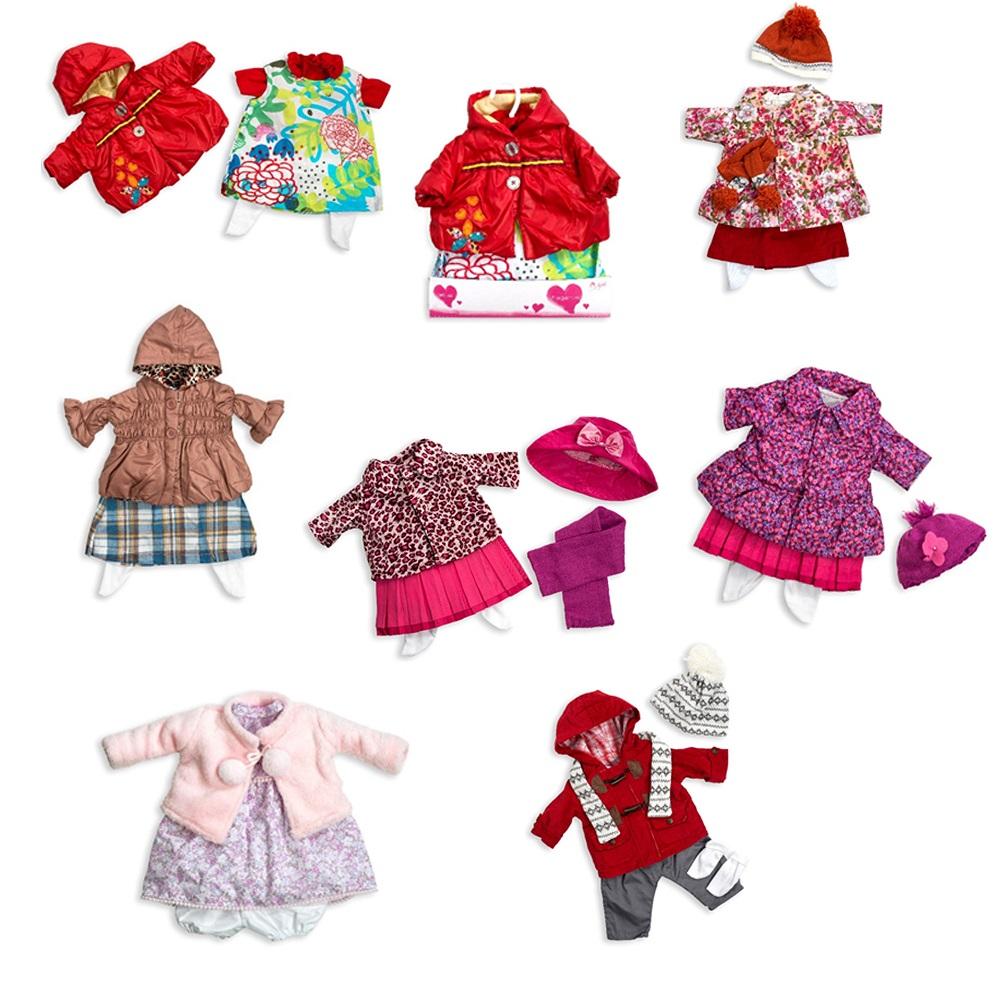 Купить Набор одежды для куклы Arias Elegance 50 см., 6 видов