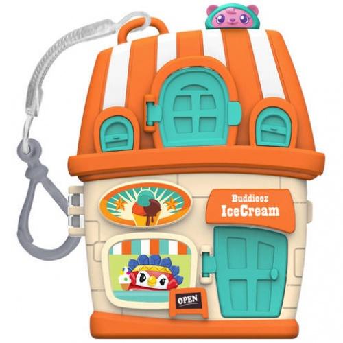 Купить Набор Bbuddieez - Оранжевый домик для хранения с подвеской, 3 шарма, 1TOY