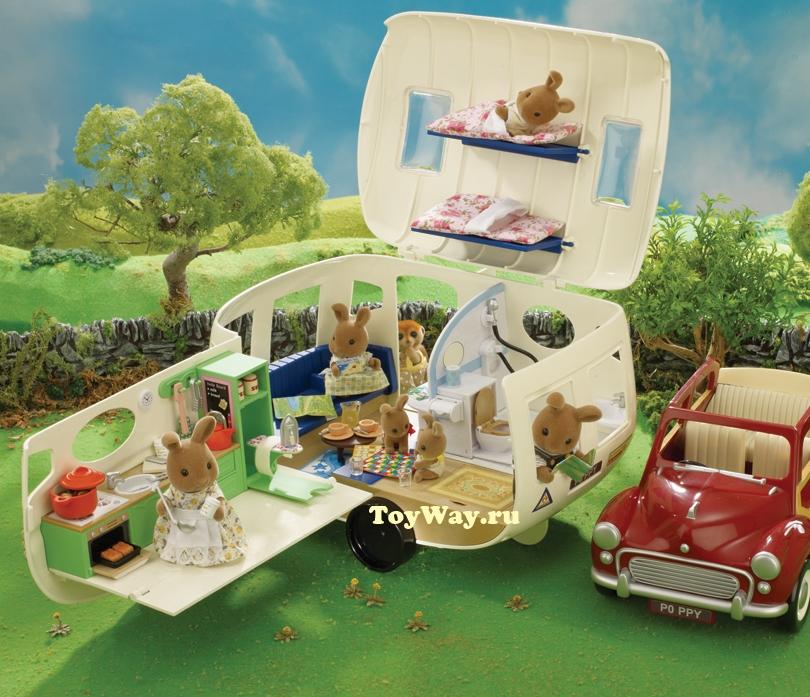 Sylvanian Families - АвтокемперТранспорт и Коляски<br>Sylvanian Families - Автокемпер<br>