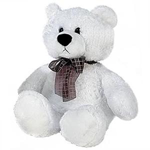 Медведь белый сидячий 53 см от Toyway