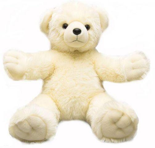 Медведь  Обними меня  белый 72 см - Медведи, артикул: 25304