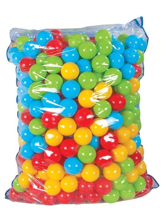 Шарики для сухого бассейна, 500 штук по 9 см., в пакете - Сухой бассейн, артикул: 161545