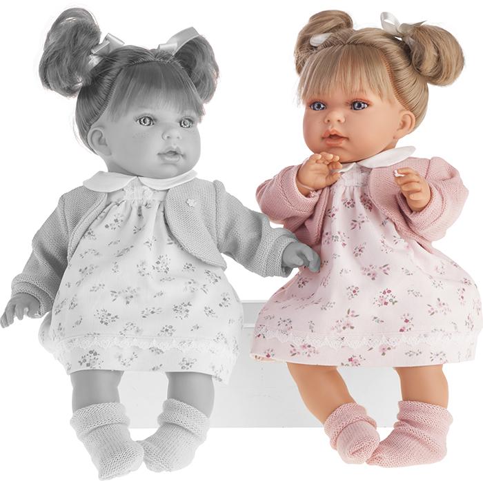 Кукла Лорена в розовом, озвученная, 37 см.Куклы Антонио Хуан (Antonio Juan Munecas)<br>Кукла Лорена в розовом, озвученная, 37 см.<br>
