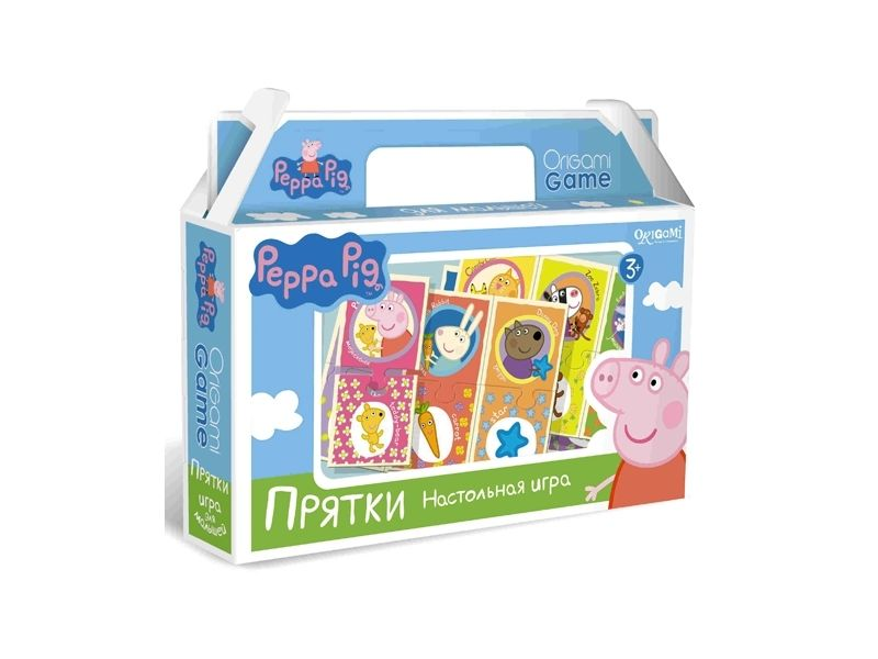 Peppa Pig. Игра настольная. ПряткиСвинка Пеппа (Peppa Pig )<br>Peppa Pig. Игра настольная. Прятки<br>