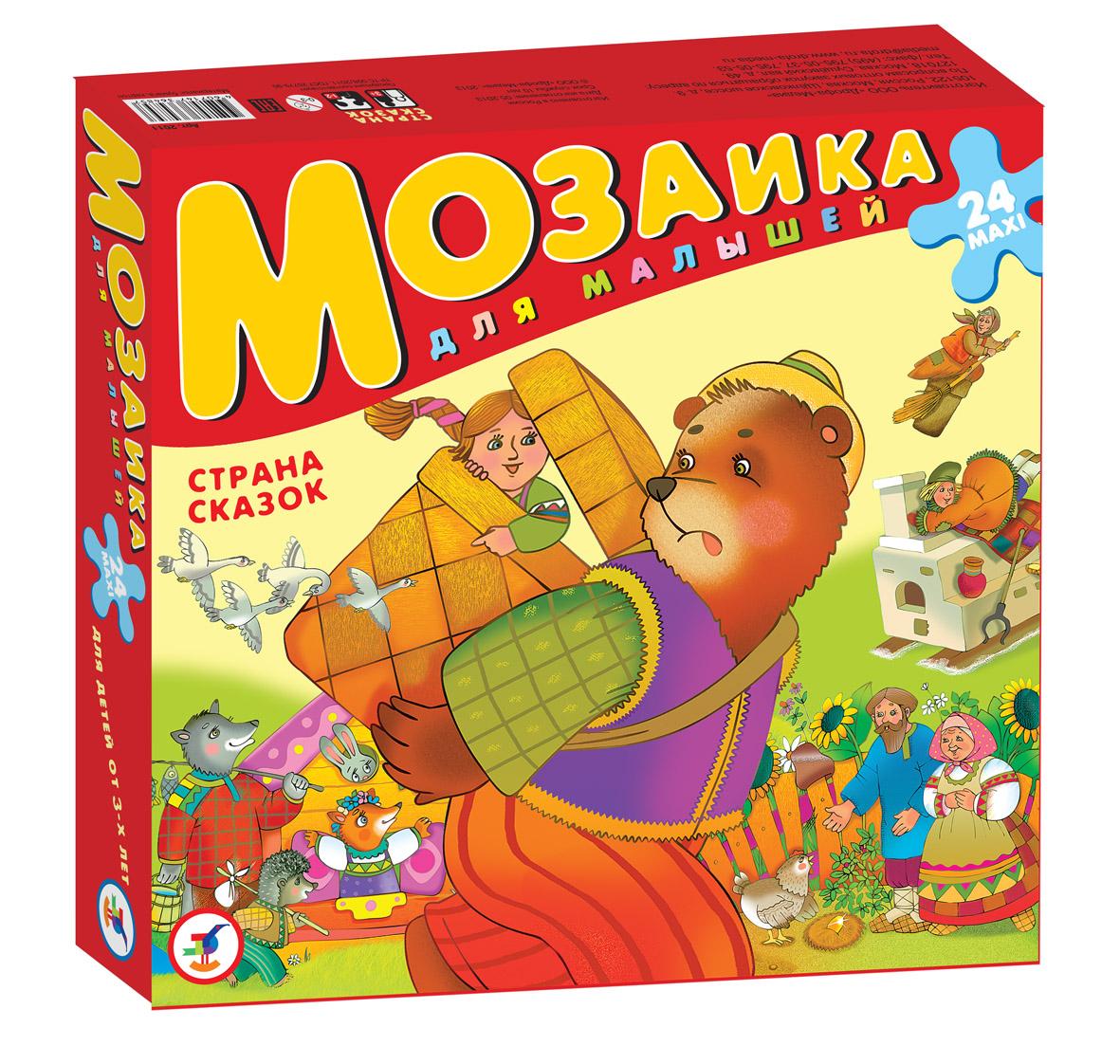 Мозаика - Страна сказокПазлы для малышей<br>Мозаика - Страна сказок<br>