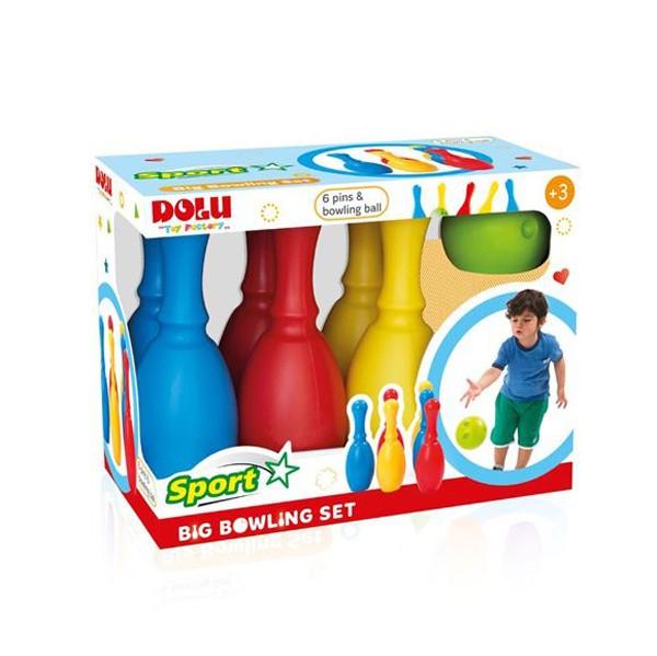 Купить Маленький набор - Боулинг из 6 кеглей и 1 шара, Dolu