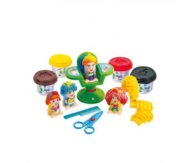 Набор с пластилином – ПарикмахерНаборы для лепки<br>Набор с пластилином – Парикмахер<br>