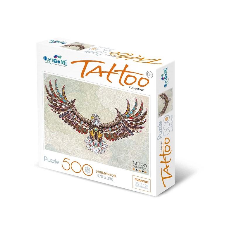 Купить Пазл из серии Арт-терапия Орел, 500 деталей, Origami