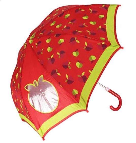 Детский зонт с окошком из коллекции Cherry - Apple forest, 41 см фото