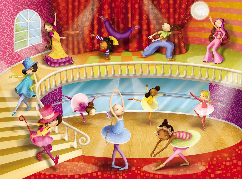 Купить Пазл – Студия танцев. 50 деталей, Crocodile Creek