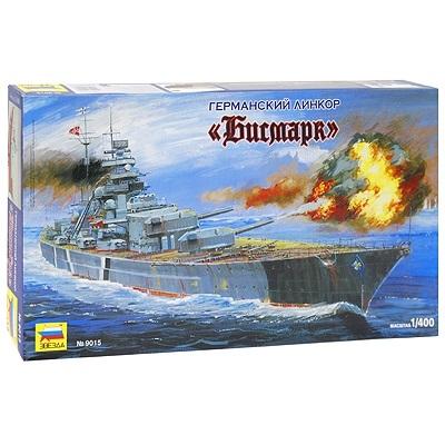 Модель сборная  Корабль. Линкор Бисмарк - Модели для склеивания, артикул: 98784
