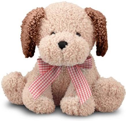 Мягкая игрушка Золотистый щенок, со звуком, 20 см.Собаки<br>Мягкая игрушка Золотистый щенок, со звуком, 20 см.<br>