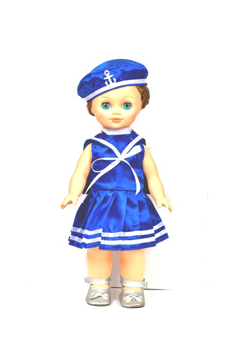Кукла Элла Морячка со звуковым устройством, 35смРусские куклы фабрики Весна<br>Кукла Элла Морячка со звуковым устройством, 35см<br>