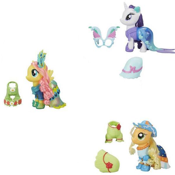 Купить Игровой набор My Little Pony Movie – Мерцание. Пони с двумя нарядами, Hasbro