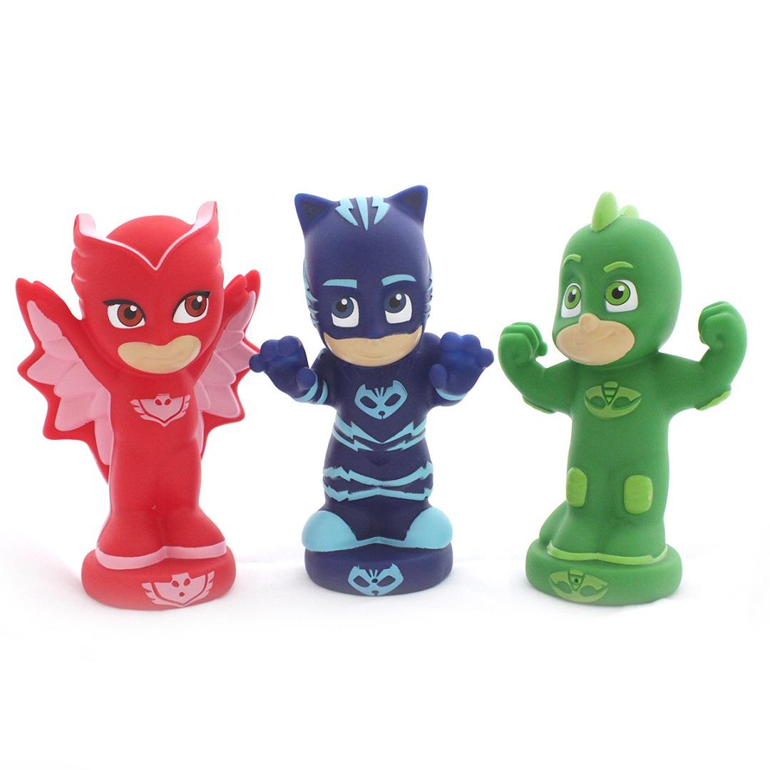 Набор фигурок для ванной из серии Герои в масках, 3 шт., 13 см.Резиновые игрушки<br>Набор фигурок для ванной из серии Герои в масках, 3 шт., 13 см.<br>