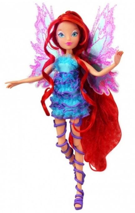 Кукла из серии Winx Club Мификс – Блум, 27 см.Куклы Винкс (Winx)<br>Кукла из серии Winx Club Мификс – Блум, 27 см.<br>