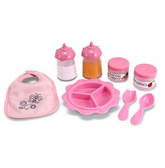 Игровой набор для кормленияНаборы для кормления и купания пупса<br>Игровой набор для кормления<br>