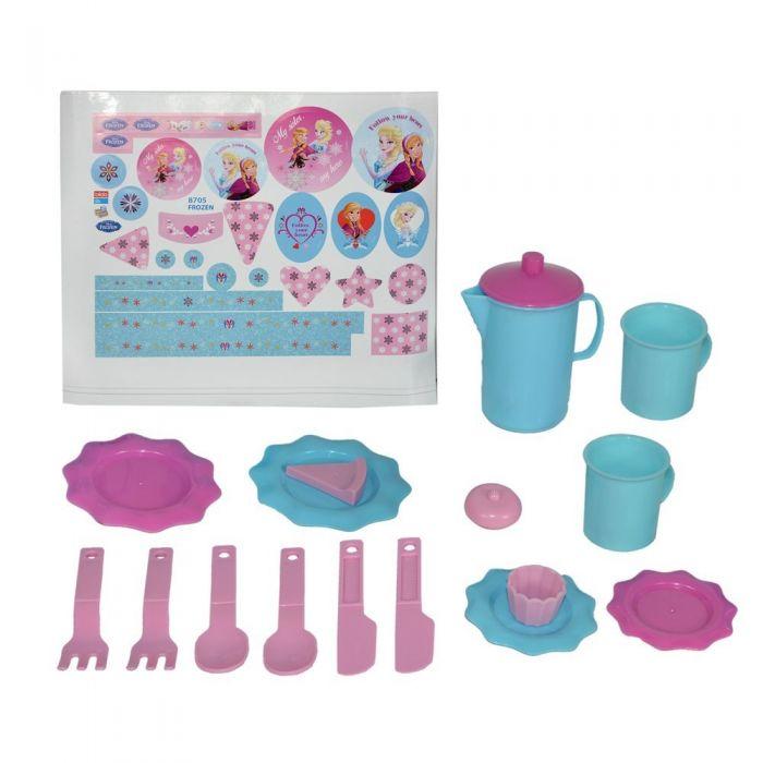Игровой набор посуды для чая - Холодное сердце, малый фото