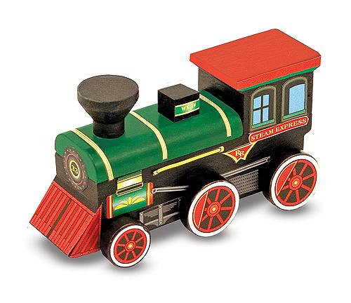 Набор Создай свой собственный поезд из серии ТворчествоДеревянный конструктор<br>Набор Создай свой собственный поезд из серии Творчество<br>