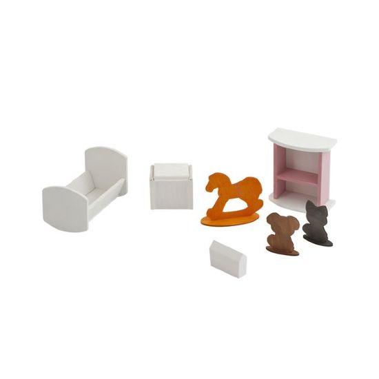 Купить Набор мебели для Барби - Детская спальня, Paremo