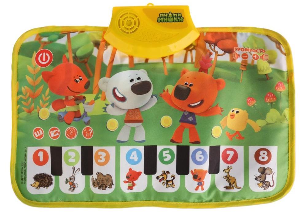 Купить Музыкальный коврик-пианино – песни, стихи, сказки. Мимимишки, Умка