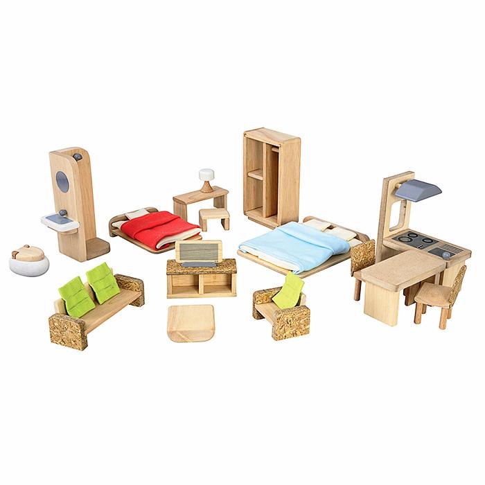 Набор мебели для кукольного домаКукольные домики<br>Набор мебели для кукольного дома<br>
