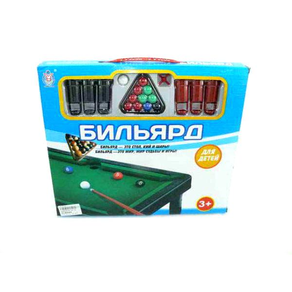 Настольная игра - Бильярд для детейДетский настольный бильярд<br>Настольная игра - Бильярд для детей<br>