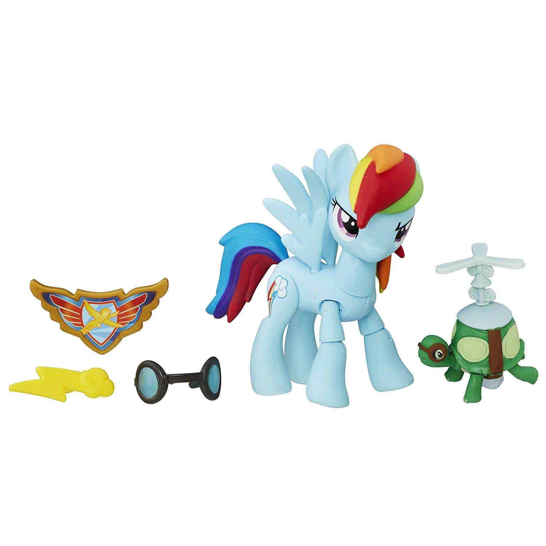 Фигурка Рейнбоу Дэш из серии My Little Pony. Guardians of Harmony, с аксессуарамиМоя маленькая пони (My Little Pony)<br>Фигурка Рейнбоу Дэш из серии My Little Pony. Guardians of Harmony, с аксессуарами<br>