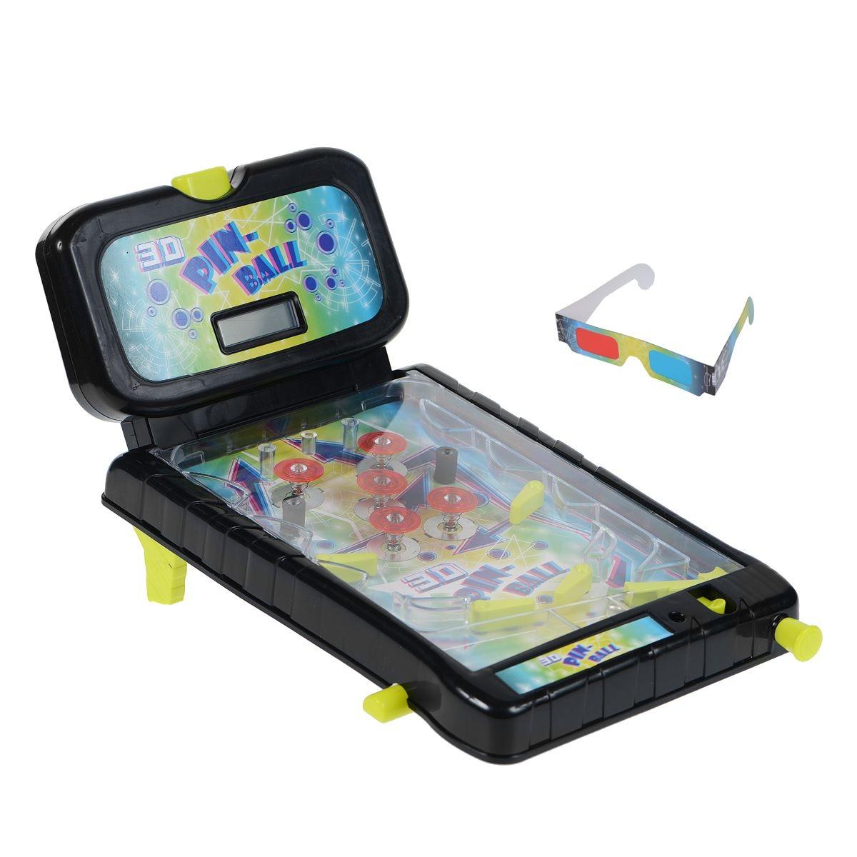 Настольная игра - 3D ПинболДетский настольный бильярд<br>Настольная игра - 3D Пинбол<br>