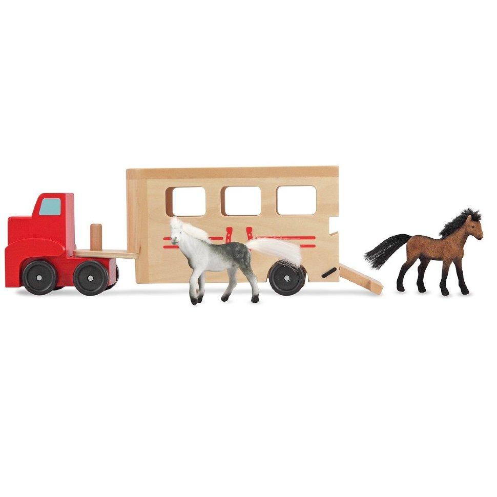 Игровой набор - Машинка для перевозки лошадейПаровозики и машинки<br>Игровой набор - Машинка для перевозки лошадей<br>