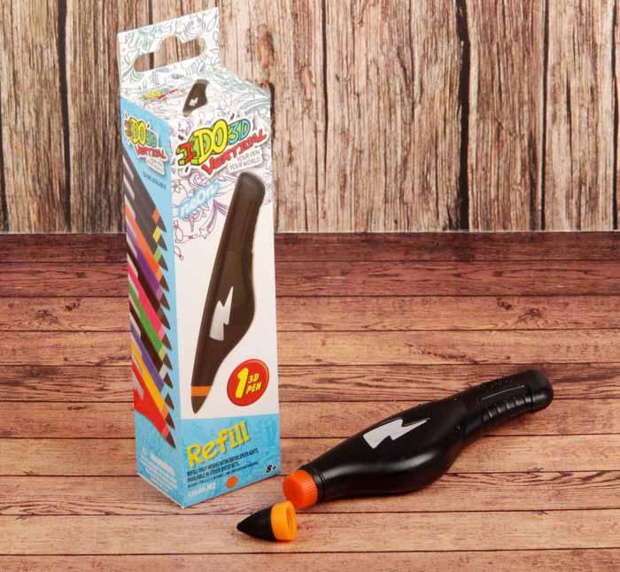 Купить Картридж для 3D ручки Вертикаль, неоновый оранжевый, Redwood