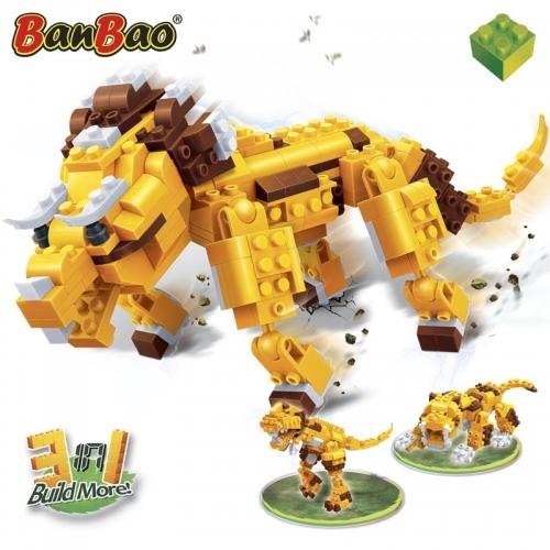 Конструктор Динозавр: 3 в 1, 328 деталейКонструкторы BANBAO<br>Конструктор Динозавр: 3 в 1, 328 деталей<br>
