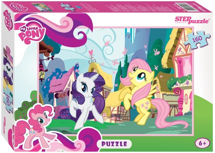 Пазл Мой маленький пони, 160 элементовМоя маленькая пони (My Little Pony)<br>Пазл Мой маленький пони, 160 элементов<br>
